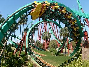 Kumba (roller coaster) - Image: Kumba at Busch Gardens Tampa