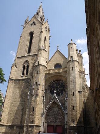 Église Saint-Jean-de-Malte - Image: L'Eglise St Jean de Malte Place St Jean de Malte Aix en Provence