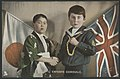 L'entente cordiale. Postcard depicting the friendship between Britain and Japan during World War I. FL10287151.jpg
