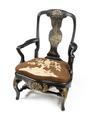 Länstol, rokoko - Hallwylska museet - 109832.tif