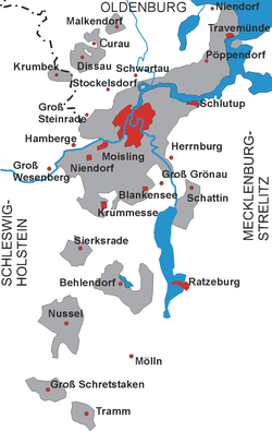 Territory of the Free City of Lübeck, 1815–1937