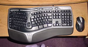 My new keyboard and mouse