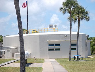 Cape Canaveral Air Force Station Launch Complex 26 - Image: LC 26 blockhouse