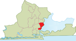 Location within Lagos