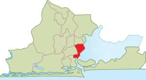 Lagos Mainland - Image: LGA Lagos Mainland