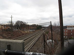 Main Line (Long Island Rail Road) - Image: LIRR Main Line from Grand Av overpass jeh