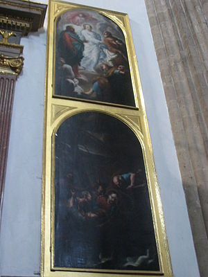 "Temple of San Felipe Neri ""La Profesa"" - Two paintings inside the church"