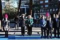 La plaza de Colón de Madrid acoge el izado de bandera en honor a San Isidro 03.jpg