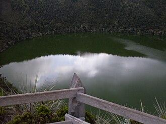 Sesquilé - Image: Laguna De Guatavita