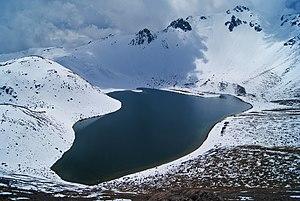 Climate of Mexico - Image: Laguna del sol