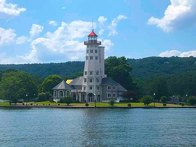 Lighthouse on Guntersville Lake Lake Guntersville Lighthouse.jpg