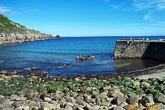 Lamorna Birch - Lamorna Cove (here in 2005) was a frequent subject for his paintings.