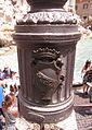 Lamp standard with SPQR inscription in Rome.JPG