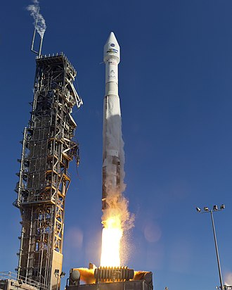 Landsat 8 - Landsat 8 launches atop an Atlas V