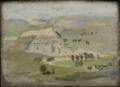 Landscape - Sketch for Cowboys in the Bad Lands.png
