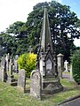 Larpool Lane cemetery monument - geograph.org.uk - 1396839.jpg