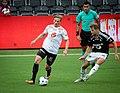 Lars Christian Kjemhus and Vegar Eggen Hedenstad, Sogndal-Rosenborg 07-15-2017.jpg