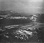 Lateral Glacier, valley glacier with bands of rocks covering portions of the glacier, September 4, 1977 (GLACIERS 6601).jpg