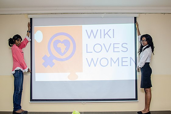 Launching of Wiki Loves Womenat Goethe Institute, Lagos ,Nigeria 18.jpg
