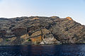 Lava and rock formations - crater rim - Santorini - Greece - 01.jpg