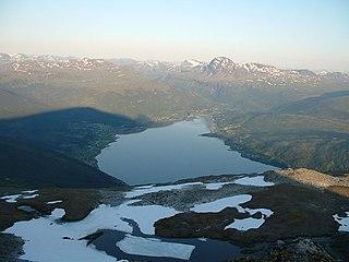 Lavangen Municipality in Troms og Finnmark, Norway