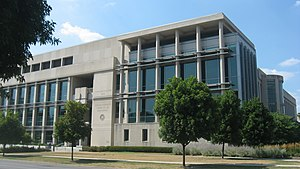 Indiana University – Purdue University Indianapolis - The Indiana University Robert H. McKinney School of Law, located in Inlow Hall.