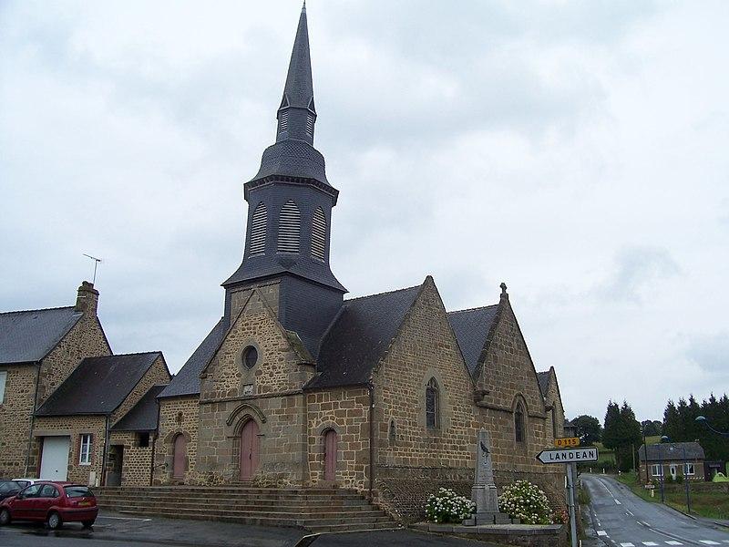 Church of Le Loroux.