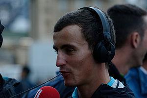 Alexis Vuillermoz - Vuillermoz at the 2015 Tour de France