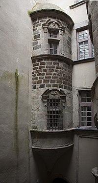 Le puy en Velay-Hôtel de Johanny de Marminhac-Tourelle-20130324.jpg