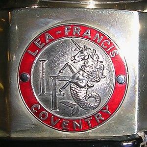 Lea-Francis - Lea-Francis radiator badge