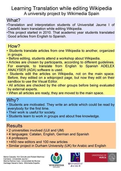 File:Learning translation while editing Wikipedia - poster - Wikimania 2016.pdf
