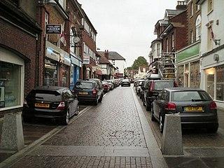 Mole Valley Non-metropolitan district in England