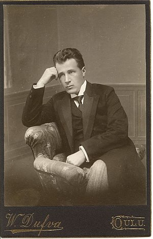 Leevi Madetoja - Madetoja as a young man (c. 1908)