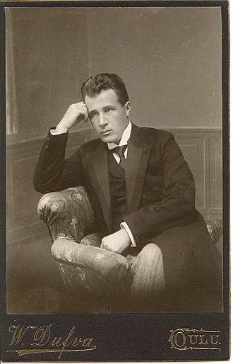 Leevi Madetoja - Madetoja as a young man (c. 1908)