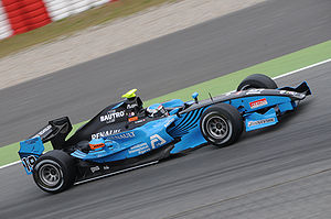 Fabio Leimer - Leimer won the opening sprint race of the 2010 GP2 Series season in Barcelona.