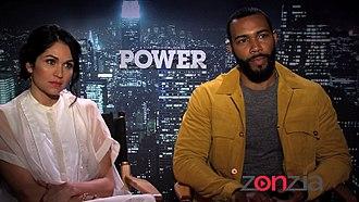 Omari Hardwick - Lela Loren and Omari Hardwick interviewed about Power in 2015