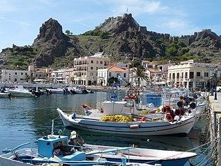 Myrina, Greece Place in Greece
