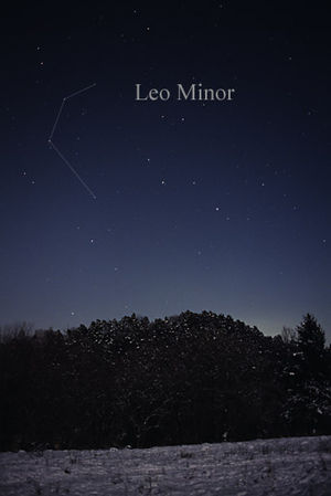 Leo Minor - Leo Minor as seen by the naked eye