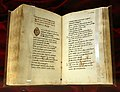 Leonardo bruni, in lode di venere, 1450-75 ca. (bml, pluteo 90 sup. 89) 01.jpg