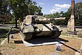 Leopard tank located on the front of the Canberra Services Club site (1).jpg