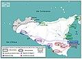 Les fondations (première et secondaire) grecques des cités de Sicile & dates de fondations.jpg