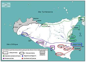 Cartina Stradale Sicilia Orientale.Storia Della Sicilia Greca Wikipedia