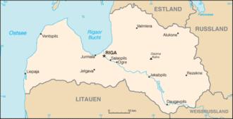 Lettland Zeitzone