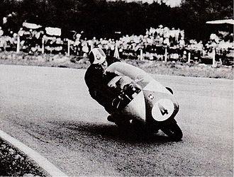 Libero Liberati - Liberati racing in 1957