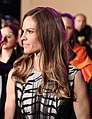 Life Ball 2013 - magenta carpet Hilary Swank 06.jpg