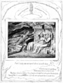 Life of William Blake (1880), Volume 2, Job illustrations plate 4.png