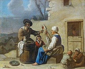 Le repas de l'artisan