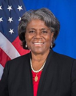 Linda Thomas-Greenfield American diplomat