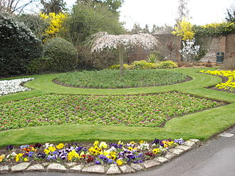 Sudbury, London - Walled Garden, Barham Park