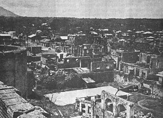 Batangas - Lipa after being Liberated by the Allied Forces